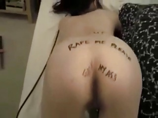 HOT FUCK #82 (Submissive 19 y.o. Asian Slut Humiliation)