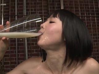 DRINKERS SEMEN : Aine Fujiwara