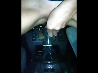 Roasting Korean Girl Rides with the addition of Squirts in the first place Gearstick