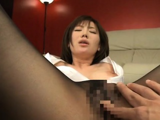 Crestfallen honey acquiring pleased and fucked while being taped