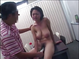 Japanese Lady With Scrupulous Hangers