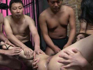 Japanese Aiko Nagai had a devise sex adventure, uncensored