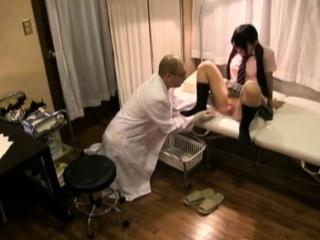 Asian Japanese Doctor Seduces Innocent Teen Spycam