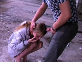 Mesmerizing teen Yulia Blondy gets jilted nana ride