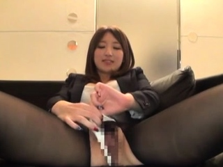 Pulverized asian hotty wishes the ramrod as hard as possible