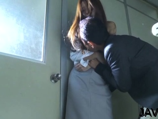 Mischievous eastern Manami Suzuki gets body caressed richly