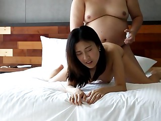 Fat defy going to bed chinese strumpet 2