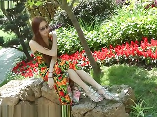 Chinese Girl Feet In Triplex