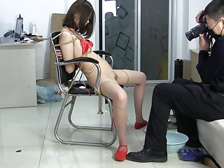 China Girl Hires Service Far Bracken Her Hairy Pussy
