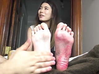 TheTickleRoom - Cocos Chinese Sole Torture Pt 2 You Dote on The Distress