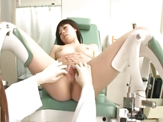 Shaved Japanese Gynecologist And Her Patient