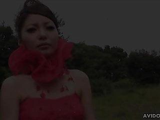 Japanese model, Sakurako eats fresh cum, uncensored