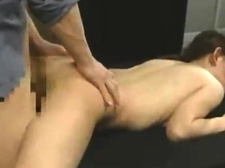 Beautiful Japanese girl sucks cock plus fucks doggystyle