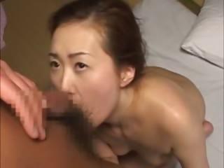 Mature japanese gets pussy slammed